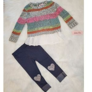 NWT Baby/toddler 2 piece Little Lass Outfit